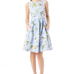 Yazlık Midi Kloş Elbiseler