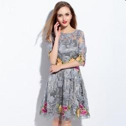 Yeni Sezon En Güzel Kısa Kollu Yazlık Elbise Modelleri 2016