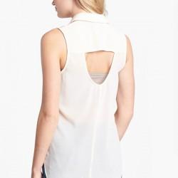 Yeni Sezon Sırt Dekolteli Bluz Modelleri 2016