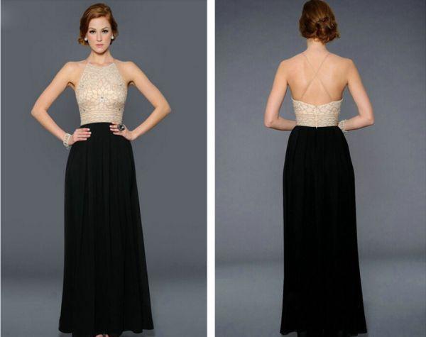 Yeni Sezon Sırt Dekolteli Elbise Modelleri 2016