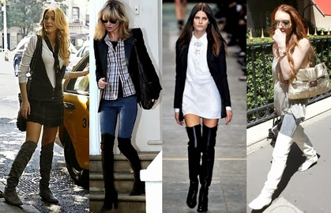 En Güzel Bayan Çizme Model ve Kombinleri