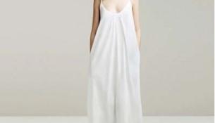 Çok Şık Uzun Beyaz Elbise Modelleri
