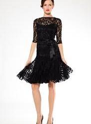 Çok İddalı Ve Çok Güzel Siyah Elbise Modelleri