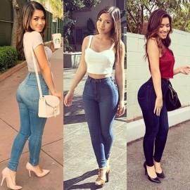 En Şık Yüksek Bel Dar Paça Pantolon Kombinleri Görselleri