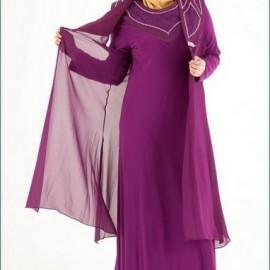 En Güzel Tesettür Anne Abiye Modelleri