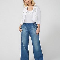 En Yeni Yüksek Bel Bol Pantolon Modelleri
