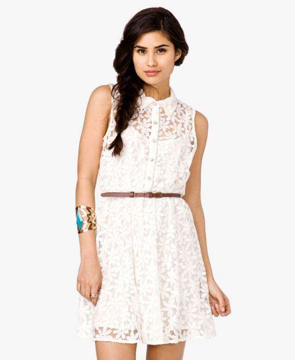 431fef6db86e7 Yeni Sezon Beyaz Dantelli Elbise Modelleri » Elbise
