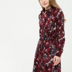 Yaka Detaylı Çok Şık Yeni Sezon Koton Elbise Modeli