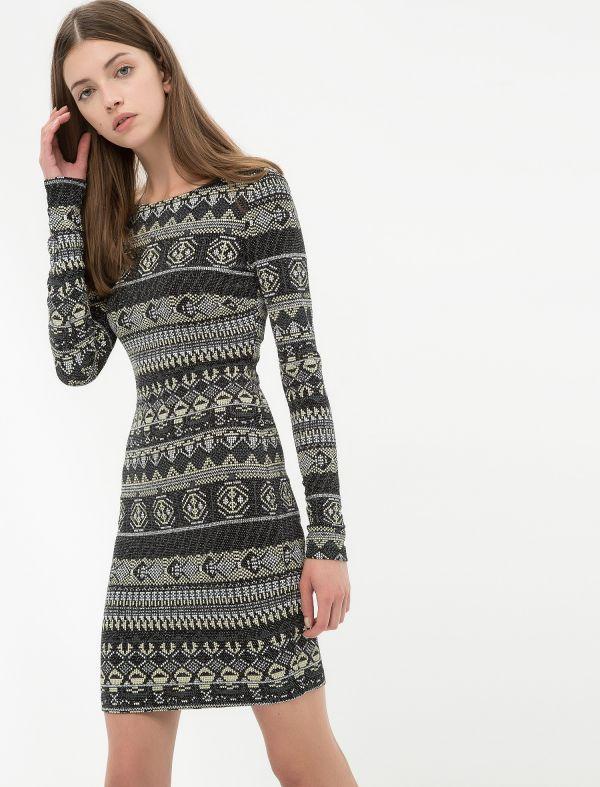 5850a25b46616 Uzun Kollu Yeni Sezon Koton Elbise Modeli »