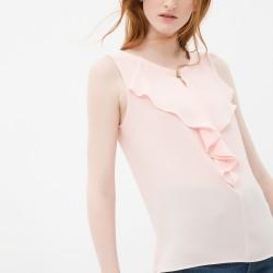 Yaka Detaylı Çok Güzel Koton Marka Bluz Modeli
