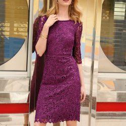 En Güzel Güpürlü Elbise Modelleri 2017