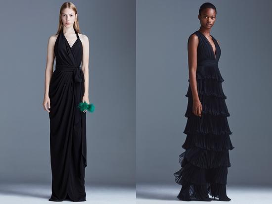 En Şık 2016 - 2017 Siyah Abiye Modelleri