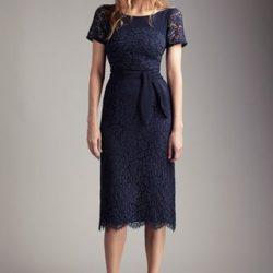 En Yeni Kuşak Detaylı Güpürlü Elbise Modelleri 2017