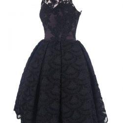 En Zarif Güpürlü Elbise Modelleri