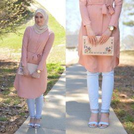 En İddialı Tesettür Tunik Elbiseler