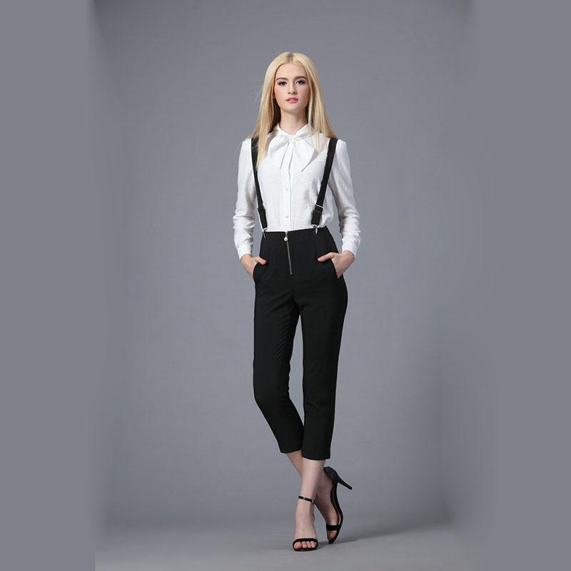 Yeni Sezon Bayan Askılı Bayan Pantolon Modelleri 2017