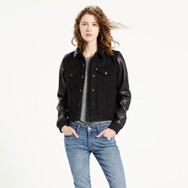 Yeni Sezon En Güzel Levis Kot Ceket Modelleri 2017