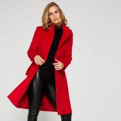 Kırmızı Renkli İpekyol Kaban Modelleri 2017