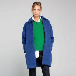 Saks Mavisi Çok Güzel İpekyol Kaban Modelleri