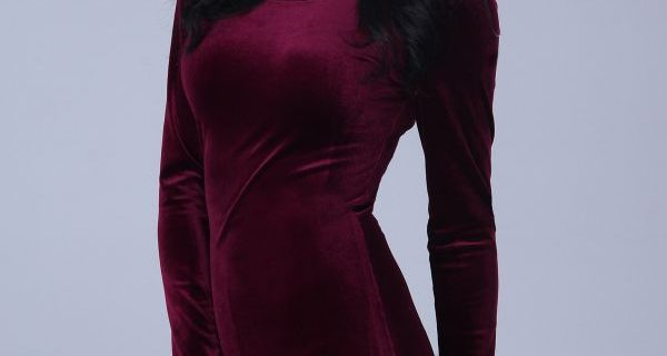 Patırtı Giyim Kadife Elbise Modelleri 2017