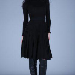 Patırtı Giyim Balıkçı Yaka Elbise Modelleri 2017