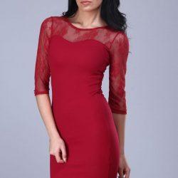 Dantel Detaylı Patırtı Elbise Modelleri
