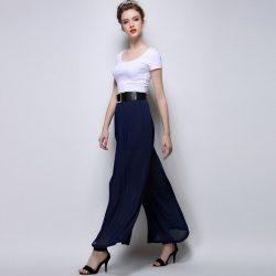 En Güzel Yüksek Bel Kumaş Pantolonlar 2017