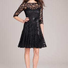 En Moda Dantelli Elbise Modelleri 2017