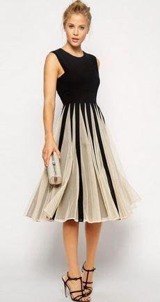 En Yeni Şifon Elbise Modelleri 2017