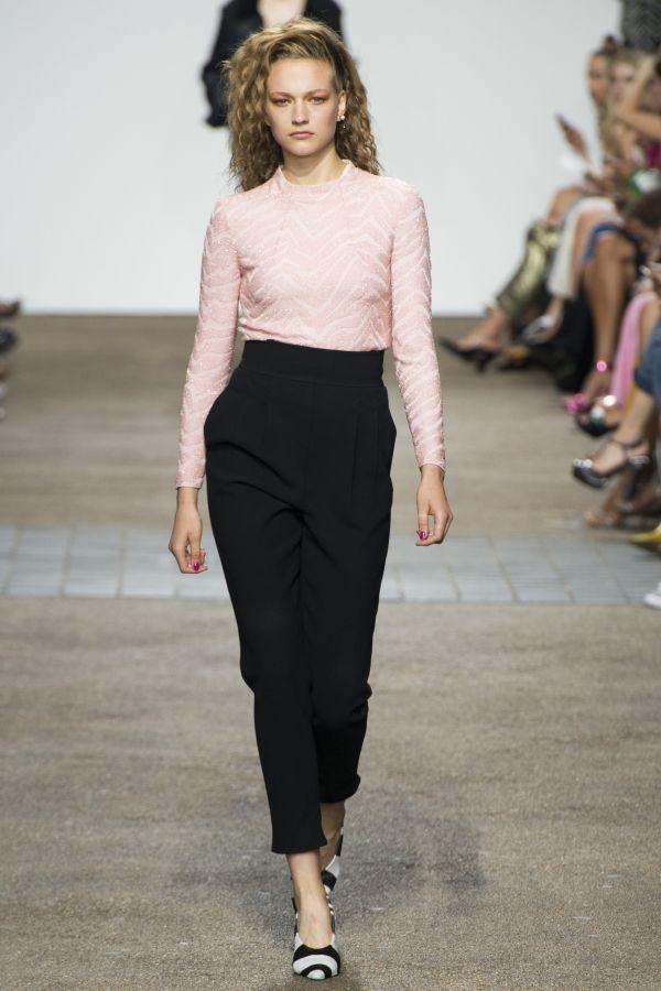 En Yeni Yüksek Bel Kapri Pantolon Modelleri 2017