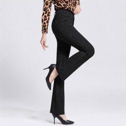 Yüksek Bel Kumaş Pantolon Modelleri 2017