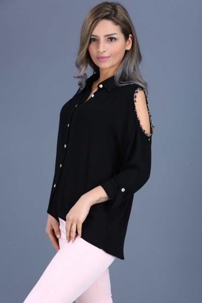 Omuz Dekolteli Yeni Sezon Bluz Modelleri 2017