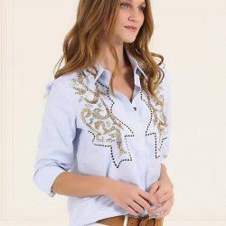 En İddialı Nakışlı Gömlek Modelleri 2017