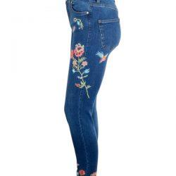 Yeni Sezon Nakışlı Pantolon Modelleri 2017