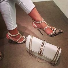 En Güzel Çanta Ayakkabı Kombinleri 2017