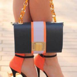 Rengarenk Çanta Ayakkabı Kombinleri 2017