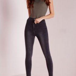 2018 Dar Kesim Yüksek Bel Pantolon Modelleri