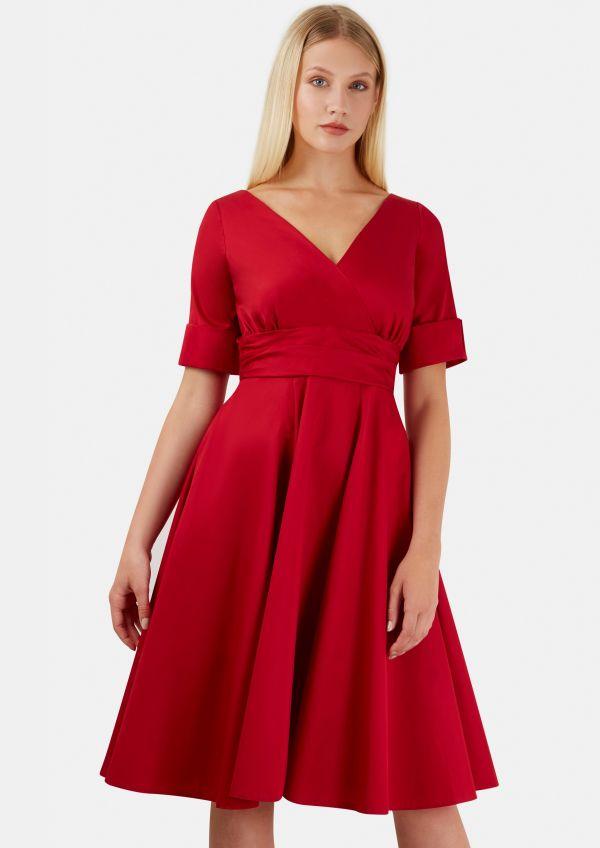 2018 Günlük Kloş Elbise Modelleri