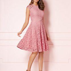 2018 Yeni Sezon Güpürlü Elbise Modelleri