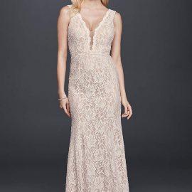 Dekolteli Dantelli Elbise Modelleri 2018