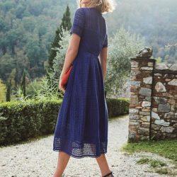 En Şık Güpürlü Elbise Modelleri 2018