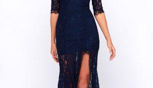 En Güzel Güpürlü Elbise Modelleri 2018