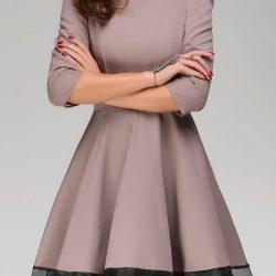 En Tarz Kloş Elbise Modelleri 2018