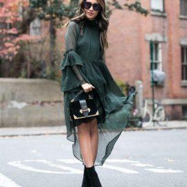 Sokak Modası Elbise Modelleri 2018