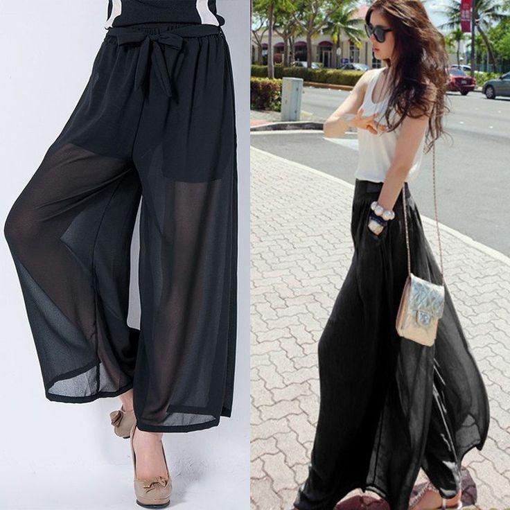 Tül Detaylı Şalvar Pantolon Modelleri 2018