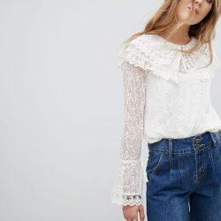 Dantelli Bluz Modelleri 2018