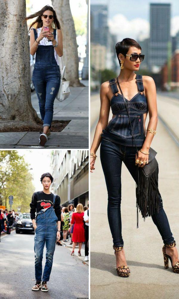 En İddialı Bayan Kot Tulum Modelleri 2018