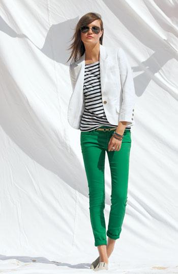 En Güzel Yeşil Pantolon Kombinleri 2018