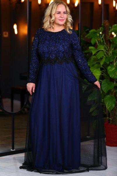 En Şık Patırtı Büyük Beden Elbise Modelleri 2018