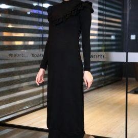 En Güzel Patırtı Giyim Fırfırlı Elbise Modelleri 2018